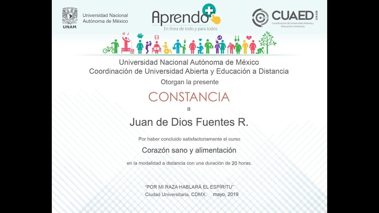 Nuevos Cursos Online De La UNAM Con Certificado Gratis