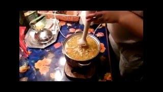 Грибной, сливочный крем суп./Mushroom creamy cream soup.