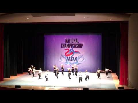 Providence College Dance Team Jazz NDA Nationals 2017