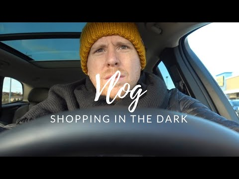 Vlog: Shopping In the Dark