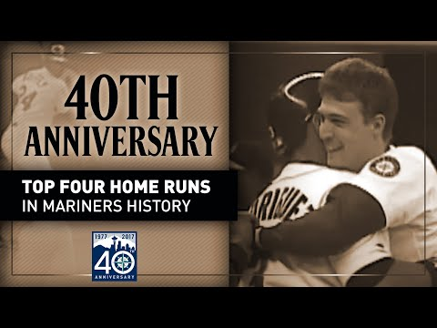 Top Four Home Runs in Mariners history