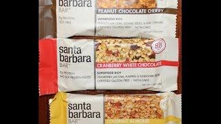 From California: Santa Barbara Bar Peanut Chocolate Cherry, Cranberry & Coconut Almond Review