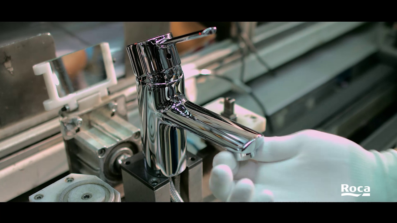 Faucets - Production processes | Roca - YouTube