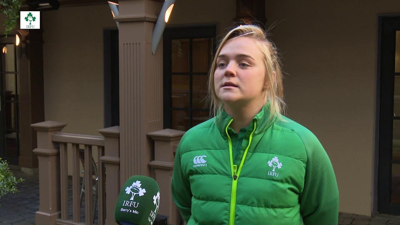 Irish Rugby TV: Cliodhna Moloney Previews Ireland Women's ...