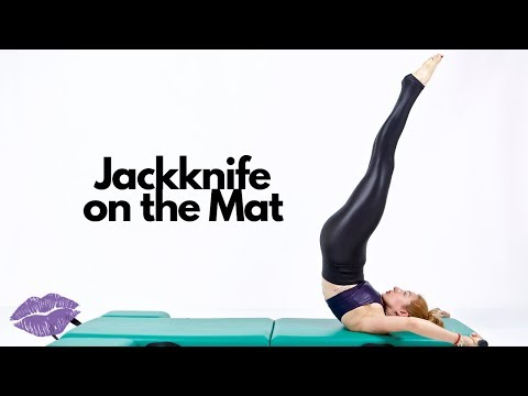 Jackknife on the Mat | Online Pilates Classes