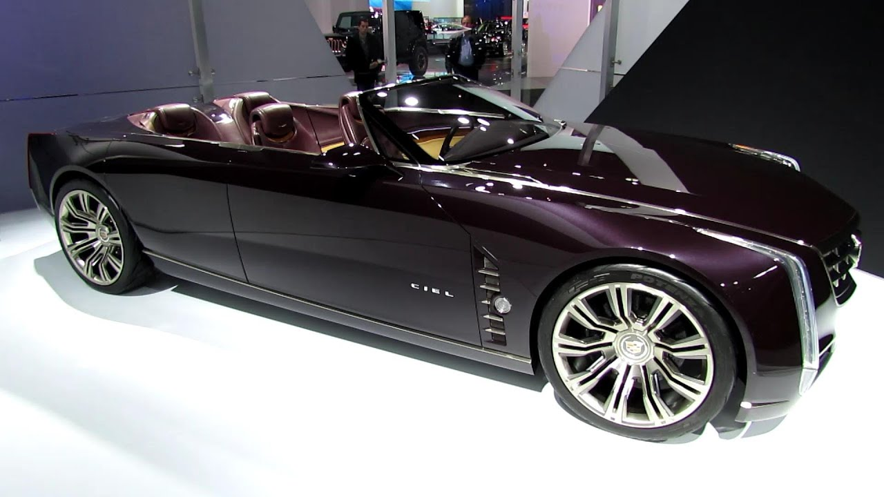 Attractive Cadillac Ciel Concept   Exterior And Interior Walkaround   2013 Detroit  Auto Show   YouTube