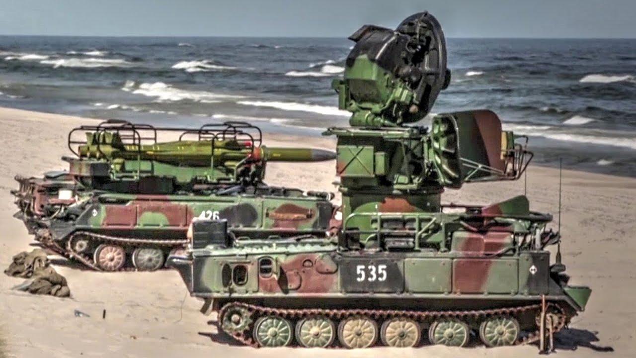 Sa 6 Gainful 2k12 Kub Soviet Surface To Air Missile