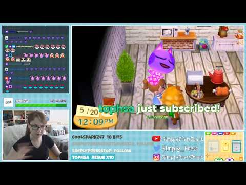 Animal Crossing New Leaf Welcome Amiibo Live Stream - May 20th, 2018