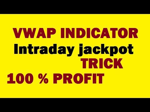 VWAP Indicator | Volume Weighted Average Price| jackpot strategy in Hindi|