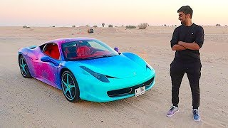 MY NEW CUSTOM GALAXY FERRARI !!!