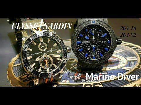Обзор Ulysse Nardin Marine Diver или 170 лет в море.