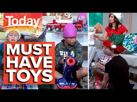Most Popular Toys This Christmas | Today Show Australia