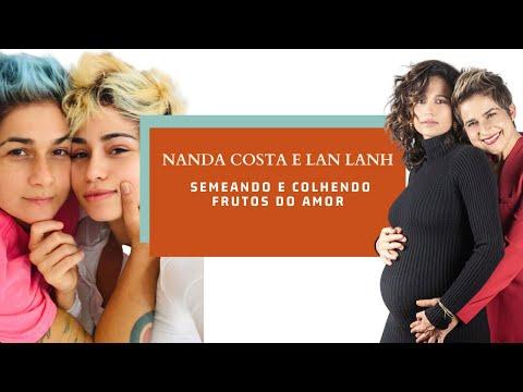 Nanda Costa e Lan Lanh, duas garotas semeando e colhendo frutos do amor