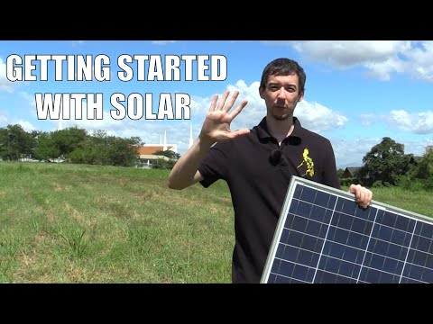 Getting started with Solar Power