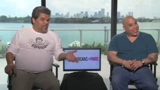 Luis Guzman & Edgar Garcia are Puerto RIcans in Paris