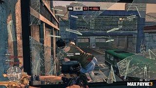 Max Payne 3 Multiplayer Gameplay TDM PC #53