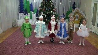 "Детский сад ""Светлячок"" - В лесу родилась елочка"