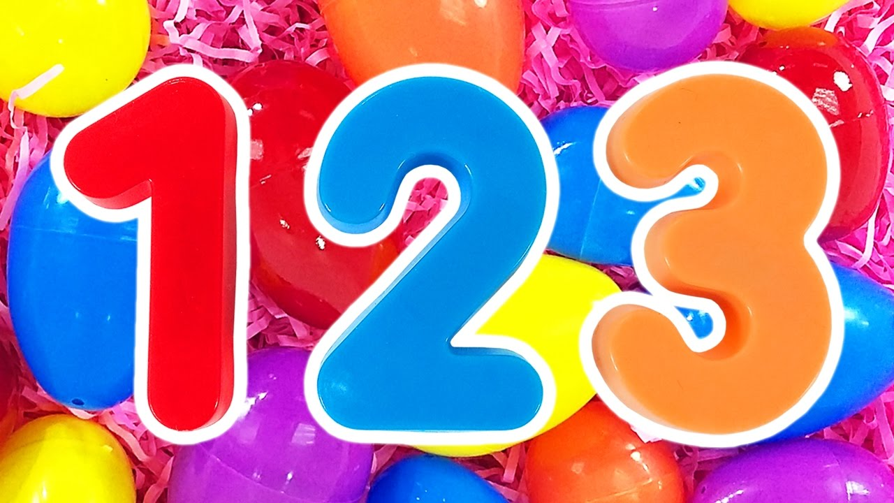 123 Surprise Eggs | Learn Numbers & Counting Compilation, Teach ...