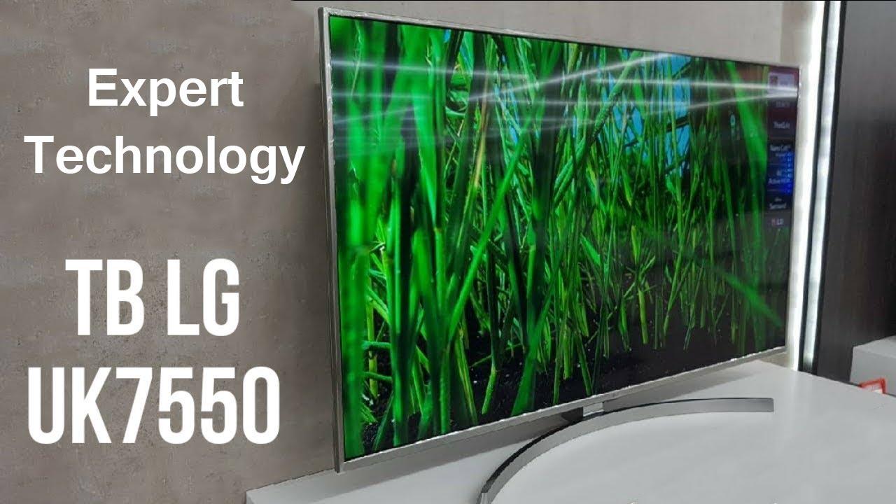 Распаковка телевизора LG 55UK7550, Новинка 2018 Smart TV 4K, LG Magic Remote, Expert Technology