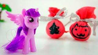 Новогодняя игрушка: Шарик на Елочку для Искорки
