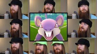 Repeat youtube video Pokemon GO - Battle! Wild Pokémon Acapella