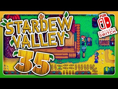 HausAusBau! 🌾 #35 • Let's Play Stardew Valley (Switch)