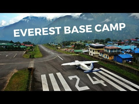 EVEREST BASE CAMP DAY 1 - Most Dangerous Airport in the World