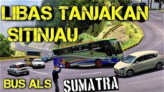 Libas Tanjakan Sitinjau Lauik Sumatra Dengan Bus ALS
