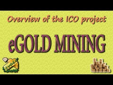 EGOLD MINING / обзор ICO компании.
