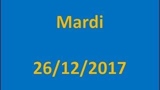 RESULTATS EURO MILLIONS DU 26/12/2017 !