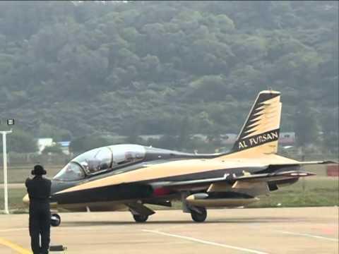 UAE Al Fursan Aerobatic Team Wows Spectators At Airshow China