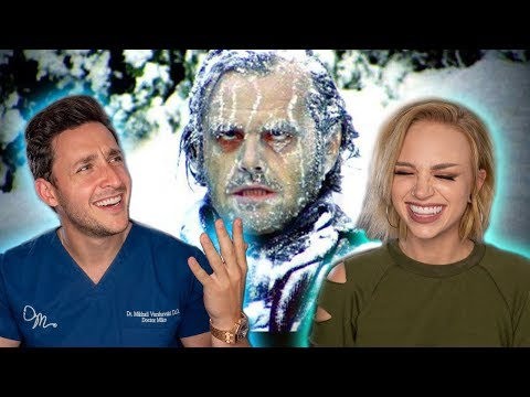 REAL DOCTOR Reacts to HORROR MOVIE MAKEUP