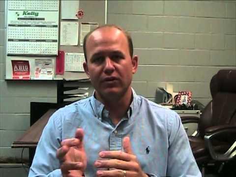 Eufaula High School Coach Bryan Moore 6 May 2015