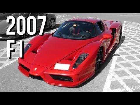 F1 2007 Ferrari Enzo