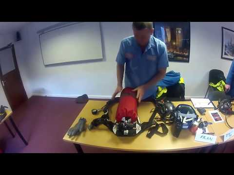Classroom Training of Breathing Apparatus