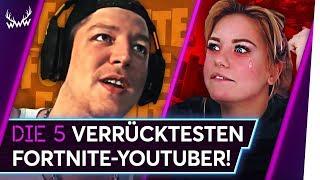 Die 5 VERRÜCKTESTEN Fortnite-YouTuber! | TOP 5
