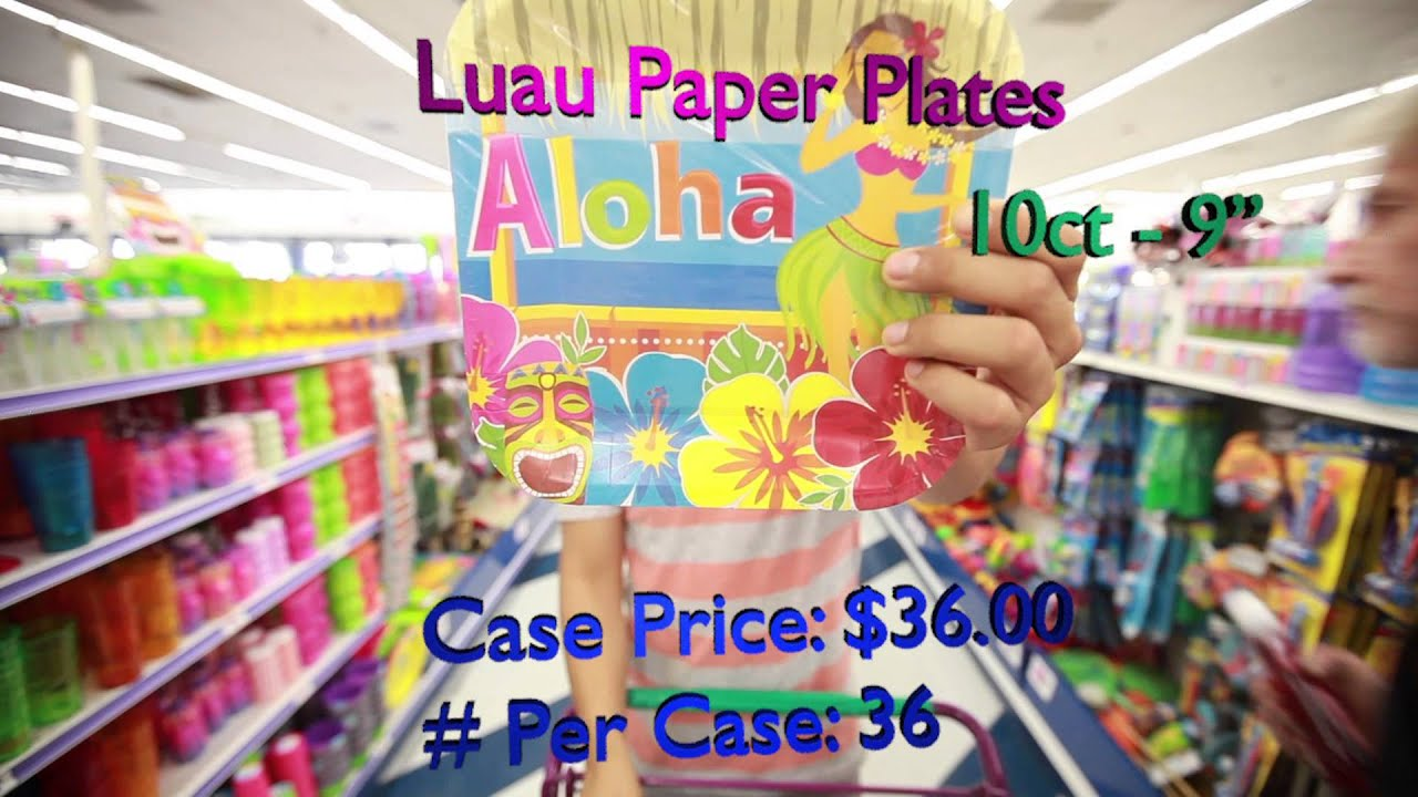 & How To Plan The Perfect Luau Party - YouTube