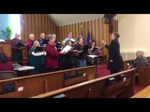 When Peace Like A River, featuring the Woodbury Baptist Choir