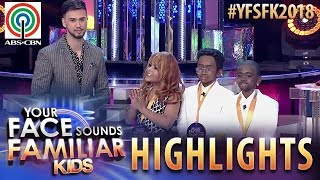 YFSF Kids 2018 Highlights: TNT Boys as Mariah Carey & Boyz II Men | 8th Weekly Winner