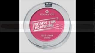 "[Preview]:essence ""READY FOR BOARDING""LE ab Juni 2012!"
