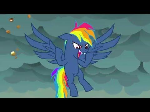 Rainbow Dash Oscura Destruye Los Pays De Pinkie Pie    Secretos Y Pays 07x23