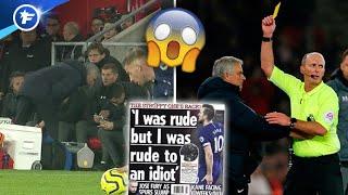 José Mourinho fait jaser après sa sortie rocambolesque | Revue de presse