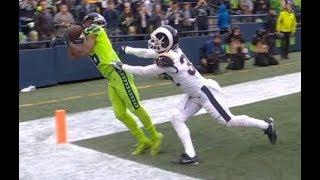 Tyler Lockett Amazing Touchdown Catch | Rams vs. Seahawks | NFL