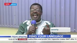 Mind your language: 'Coxswain' Sharpen your pronunciation with Willis the word master