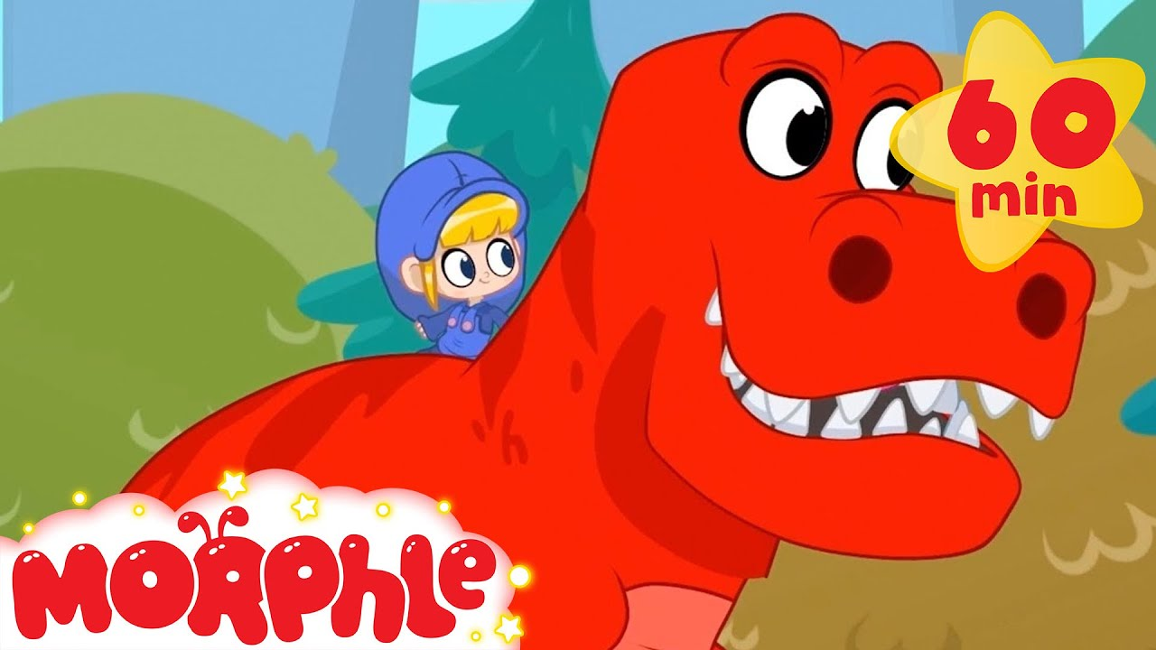 Morphle Cartoons For Kids - My Toy Dinosaur | My Magic Pet Morphle | Kids Cartoon