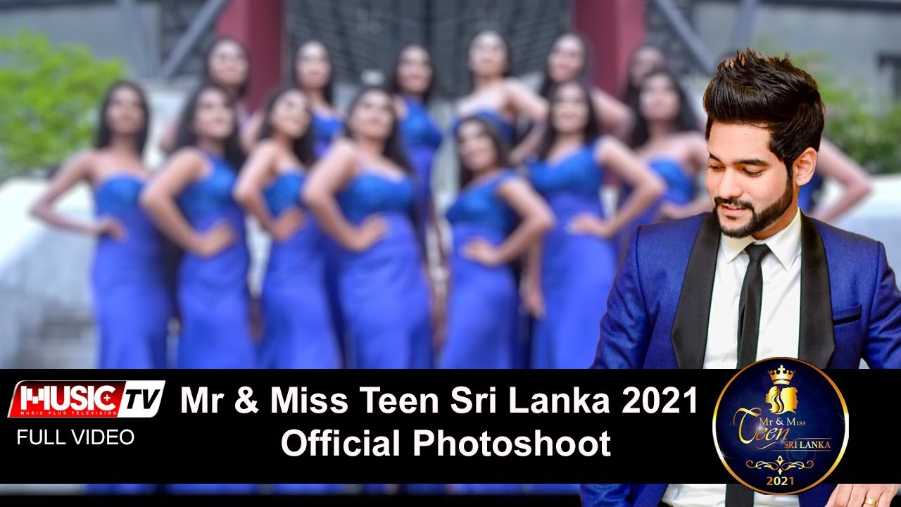 Mr & Miss Teen Sri Lanka 2021 Official Photoshoot