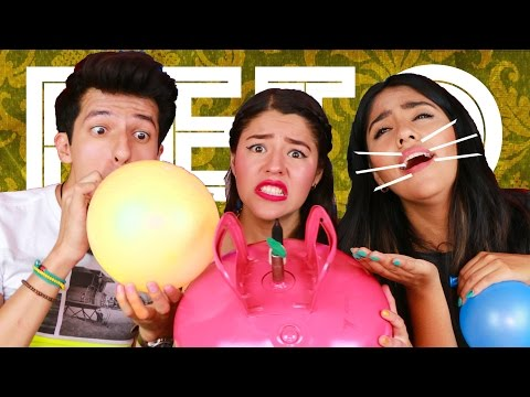 HELIUM CHALLENGE | POLINESIO CHALLENGE WITH BALLONS LOS POLINESIOS from YouTube · Duration:  9 minutes 36 seconds