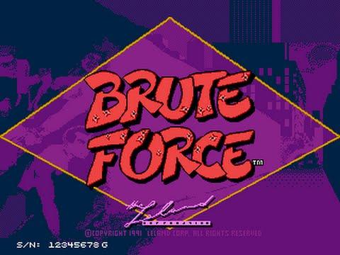 Brute Force (Arcade)