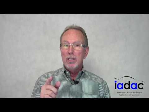 IADAC Quick Tips-California Dealer Bonds