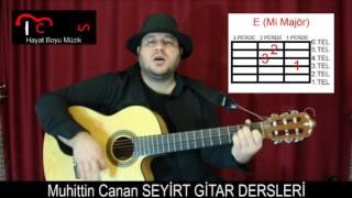 Gitar Dersi - Sevdan Olmasa - Erol Evgin ( Gitar - Repertuar - Orta Seviye)